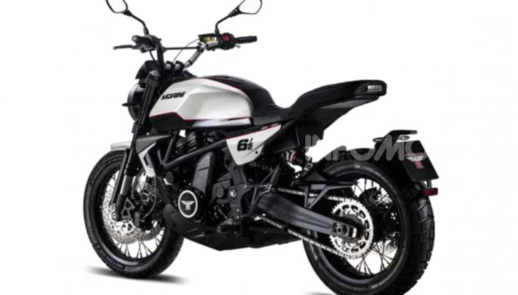 Moto Morini Seiemmezzo, Super Scrambler e X-Cape a EICMA 2019 - Foto 9 di 14