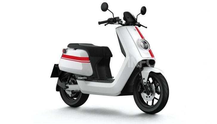 NIU: tre nuovi scooter e una bicicletta elettrica ad EICMA 2019 - Foto 1 di 11