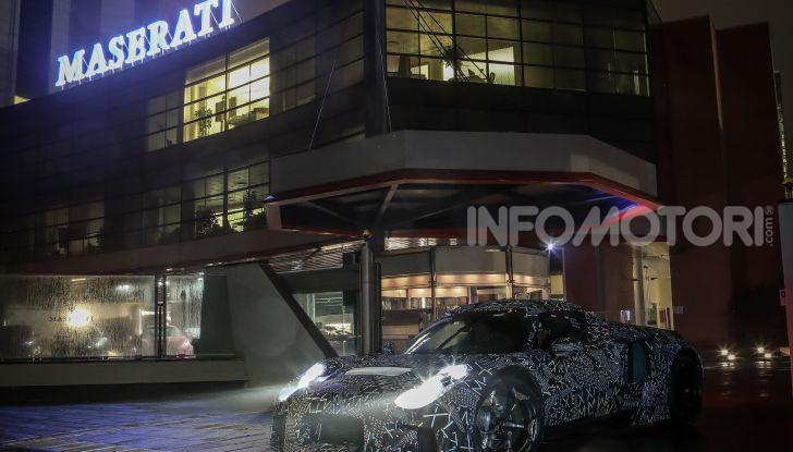 Nuova sportiva Maserati, le immagini del prototipo - Foto 4 di 5
