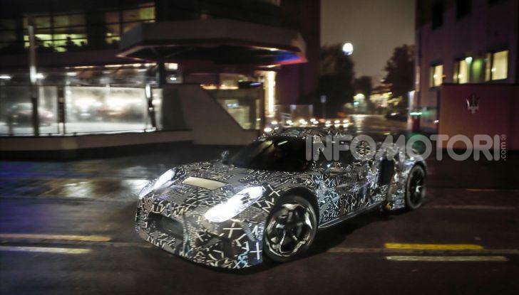 Nuova sportiva Maserati, le immagini del prototipo - Foto 5 di 5
