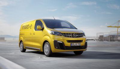 Opel Vivaro-e: dal 2020 il best seller tedesco diventa elettrico