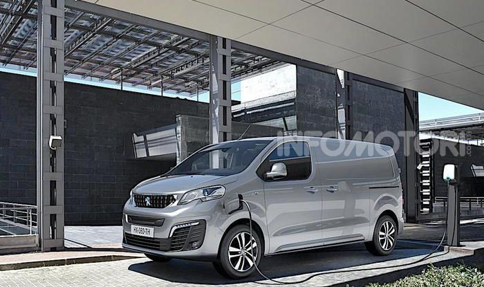 Peugeot Expert elettrico