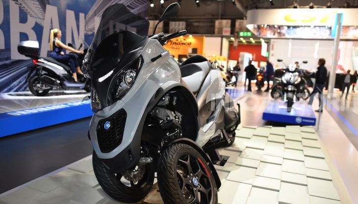 [VIDEO] EICMA 2019, tutte le novità di Piaggio, Vespa, Aprilia e Moto Guzzi - Foto 55 di 57