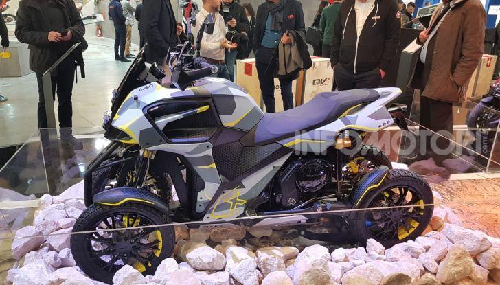 [VIDEO] Quadro diventa Qooder: il re degli scooter elettrici ad EICMA 2019 - Foto 10 di 10