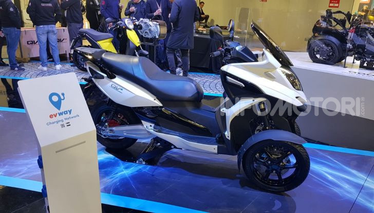 [VIDEO] Quadro diventa Qooder: il re degli scooter elettrici ad EICMA 2019 - Foto 3 di 10