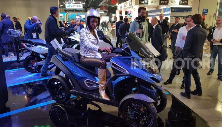 [VIDEO] Quadro diventa Qooder: il re degli scooter elettrici ad EICMA 2019 - Foto 4 di 10