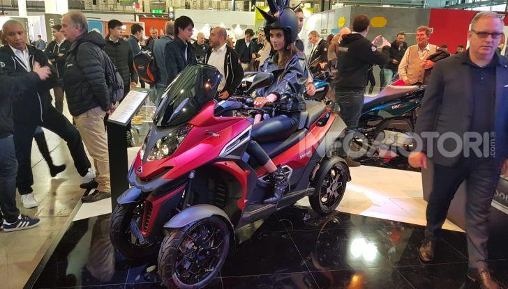[VIDEO] Quadro diventa Qooder: il re degli scooter elettrici ad EICMA 2019 - Foto 5 di 10