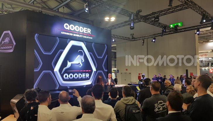 [VIDEO] Quadro diventa Qooder: il re degli scooter elettrici ad EICMA 2019 - Foto 8 di 10