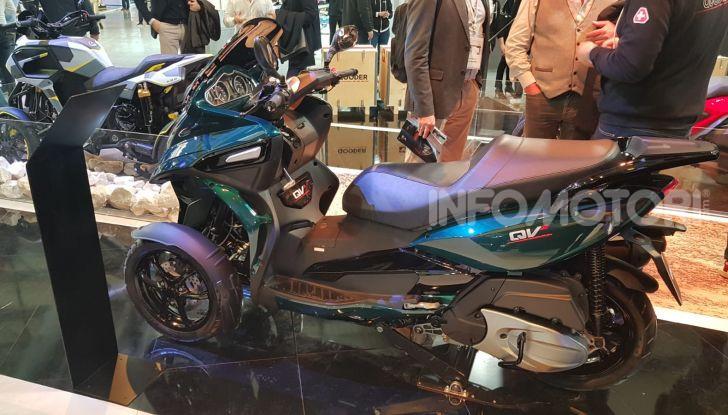 [VIDEO] Quadro diventa Qooder: il re degli scooter elettrici ad EICMA 2019 - Foto 9 di 10