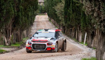 Citroën vede sfumare la vittoria nel Tricolore a causa di una foratura anomala