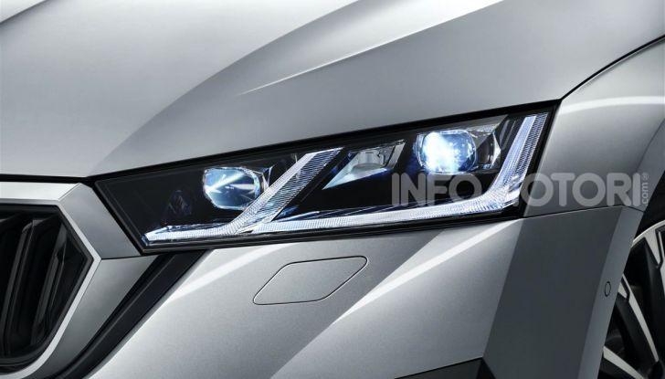 Nuova Skoda Octavia: la quarta generazione è un inno di stile e tecnologia - Foto 9 di 14