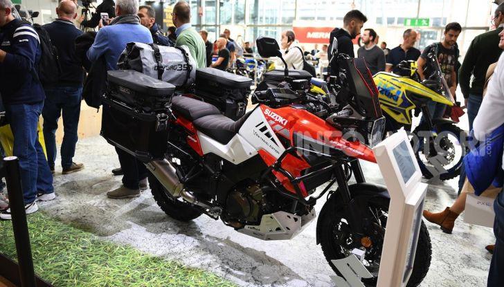 [VIDEO] Suzuki presenta a EICMA la nuova V-STROM 1050 - Foto 13 di 18