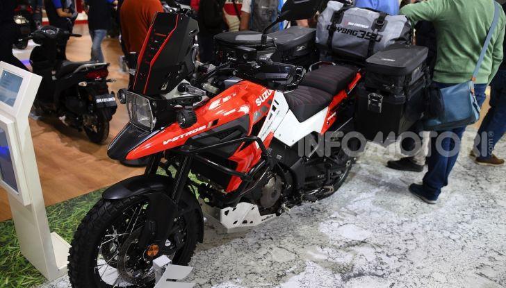 [VIDEO] Suzuki presenta a EICMA la nuova V-STROM 1050 - Foto 14 di 18