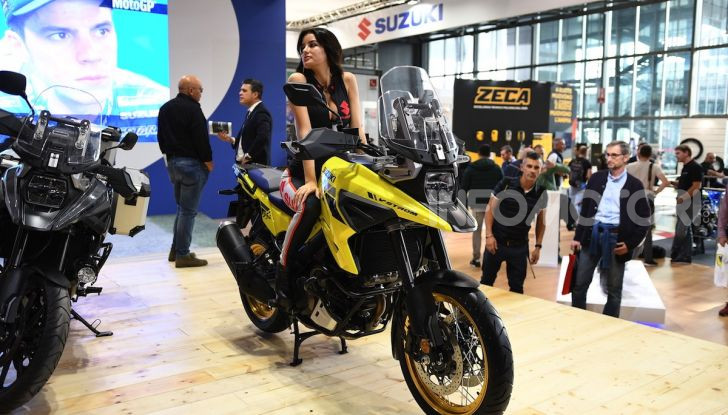 [VIDEO] Suzuki presenta a EICMA la nuova V-STROM 1050 - Foto 6 di 18