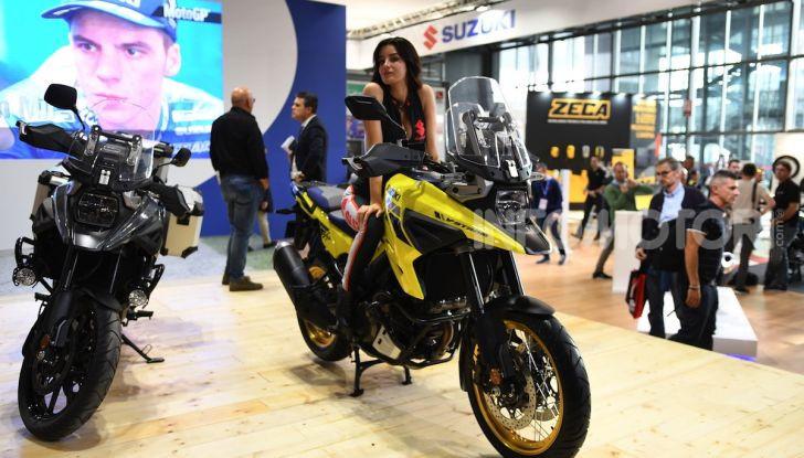 [VIDEO] Suzuki presenta a EICMA la nuova V-STROM 1050 - Foto 1 di 18