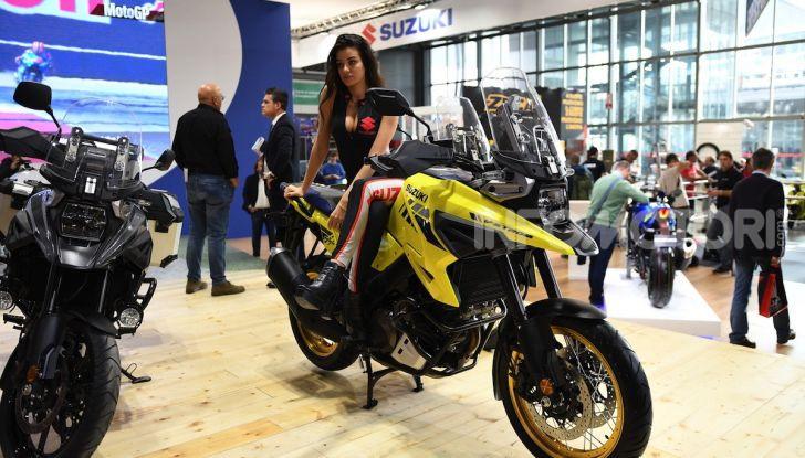 [VIDEO] Suzuki presenta a EICMA la nuova V-STROM 1050 - Foto 9 di 18