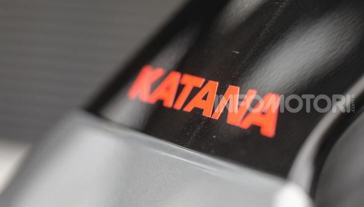 Suzuki Vitara Katana: la jeep ispirata a un'icona delle due ruote - Foto 10 di 11