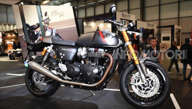 Triumph Thruxton RS 2020: l'iconica cafè racer si evolve in chiave moderna - Foto 2 di 33