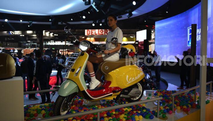 [VIDEO] EICMA 2019, tutte le novità di Piaggio, Vespa, Aprilia e Moto Guzzi - Foto 28 di 57