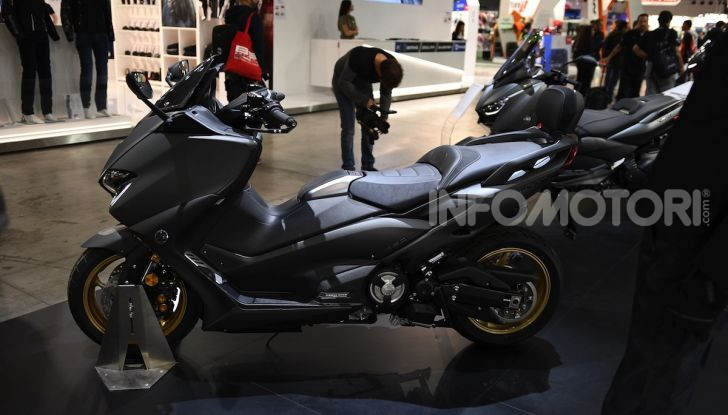 [VIDEO] Yamaha: Tracer 700 e TMAX si prendono la ribalta a EICMA 2019 - Foto 8 di 30
