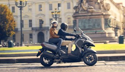 Yamaha Tricity 300: a EICMA il nuovo re della Urban Mobility