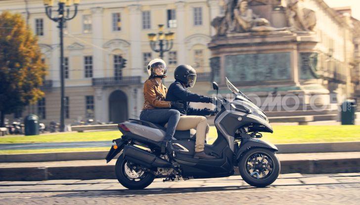 Yamaha dà il via al noleggio mensile dello scooter - Foto 13 di 13