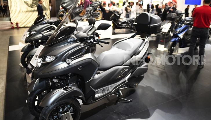 Yamaha dà il via al noleggio mensile dello scooter - Foto 4 di 13