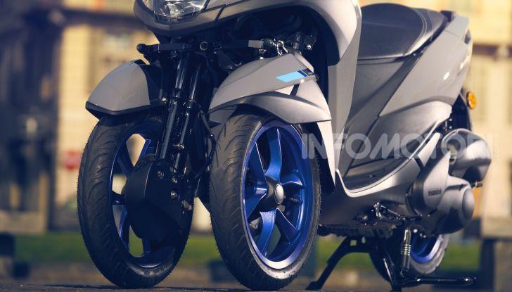 Yamaha dà il via al noleggio mensile dello scooter - Foto 5 di 13