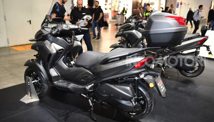 Yamaha dà il via al noleggio mensile dello scooter - Foto 3 di 13