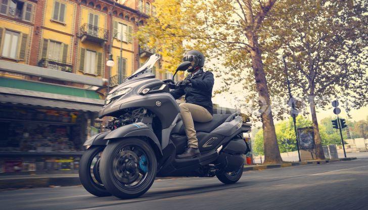 Yamaha dà il via al noleggio mensile dello scooter - Foto 8 di 13