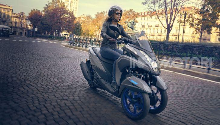Yamaha dà il via al noleggio mensile dello scooter - Foto 9 di 13