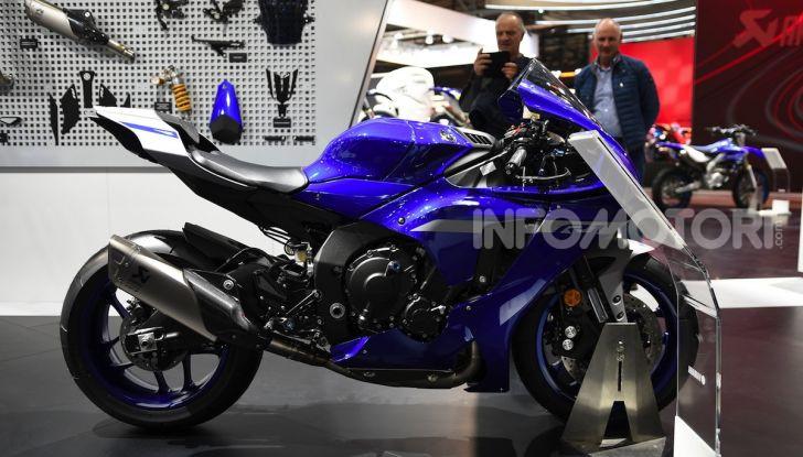 [VIDEO] Yamaha: Tracer 700 e TMAX si prendono la ribalta a EICMA 2019 - Foto 27 di 30