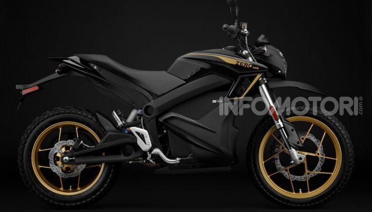 SR/F 2020 e DSR Black Forest Edition: la proposta di Zero Motorcycles a EICMA 2019 - Foto 3 di 12