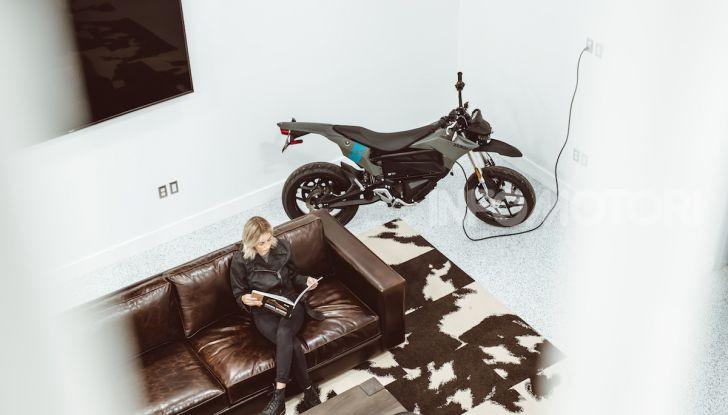 SR/F 2020 e DSR Black Forest Edition: la proposta di Zero Motorcycles a EICMA 2019 - Foto 7 di 12