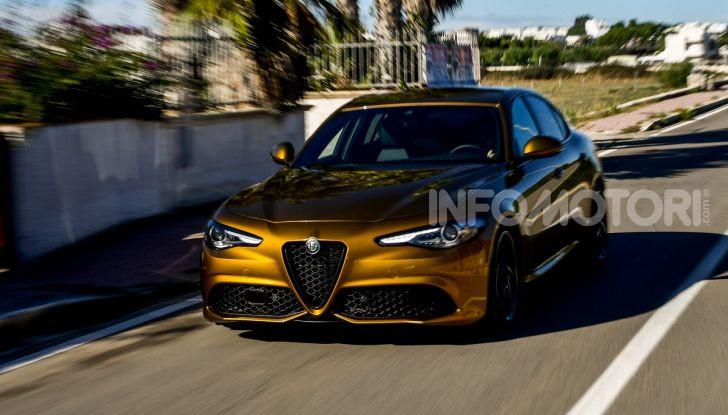 Alfa Romeo Giulia MY2020 prova su strada, motori e prezzi: la rivoluzione parte dall'interno - Foto 8 di 21