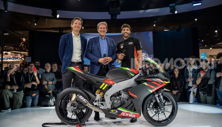 Aprilia RS 250 SP: la protagonista del prossimo Campionato Italiano FMI Aprilia Sport Production - Foto 1 di 3