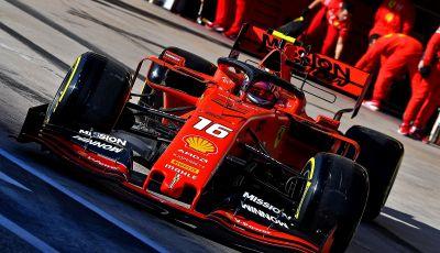 F1 2019: la Ferrari di Leclerc negli Stati Uniti aveva 18 cavalli in meno!