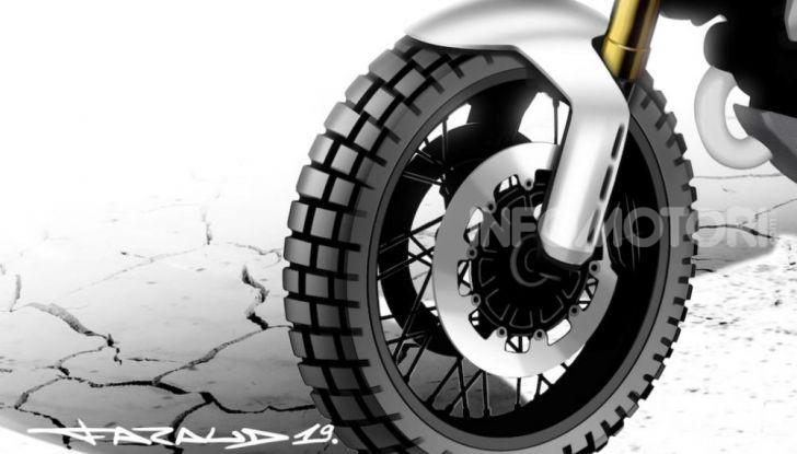 Ducati Scrambler Desert X: ad Eicma 2019 il Concept Enduro in stile Dakar - Foto 8 di 10