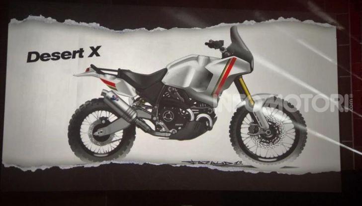 Ducati Scrambler Desert X: ad Eicma 2019 il Concept Enduro in stile Dakar - Foto 10 di 10