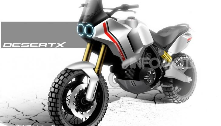 Ducati Scrambler Desert X: ad Eicma 2019 il Concept Enduro in stile Dakar - Foto 7 di 10