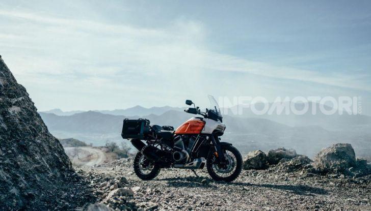 Harley-Davidson Pan America 2020: la nuova Adventure Touring con motore Revolution Max - Foto 9 di 14