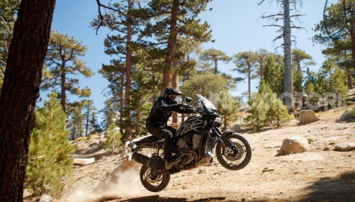 Harley-Davidson Pan America 2020: la nuova Adventure Touring con motore Revolution Max - Foto 10 di 14