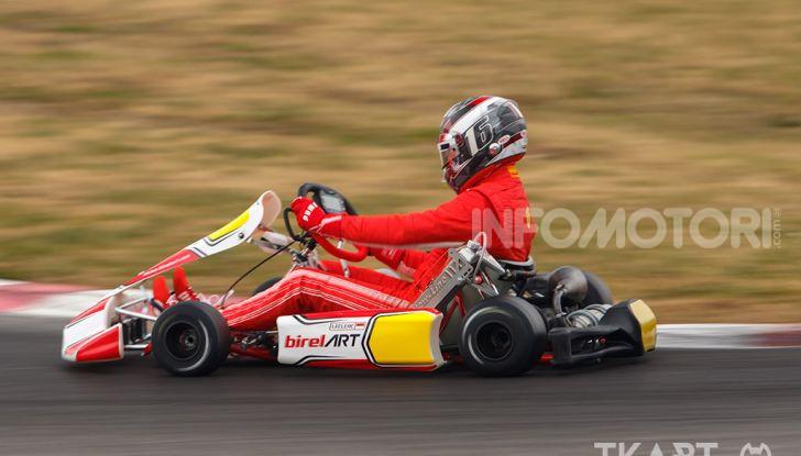 Karting: il ferrarista Charles Leclerc fonda un team di go-kart con BirelART - Foto 5 di 11