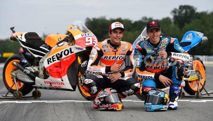 MotoGP: Alex Marquez farà coppia con Marc nel team Honda Repsol 2020 - Foto 6 di 8