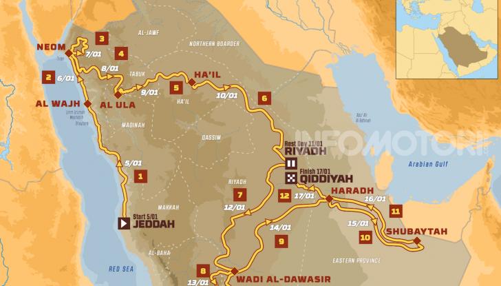 La Dakar sbarca in Arabia Saudita. Presentato il percorso dell'edizione 2020 - Foto 12 di 17