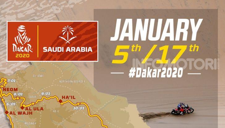 La Dakar sbarca in Arabia Saudita. Presentato il percorso dell'edizione 2020 - Foto 13 di 17