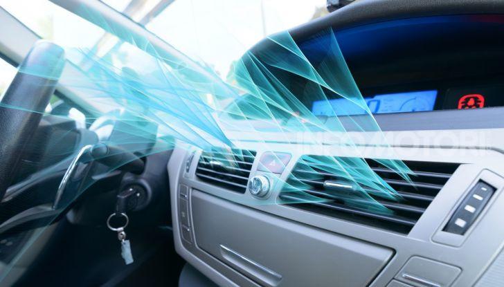 Riscaldamento auto aria fredda
