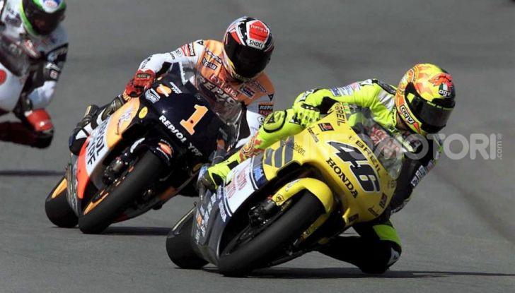 """MotoGP: tutti i Campioni messi """"fuori gioco"""" da Valentino Rossi - Foto 2 di 17"""