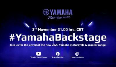 LIVE in diretta YamahaBackstage, la casa di Iwata anticipa le novità di Eicma 2019