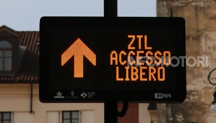 ztl accesso traffico limitato